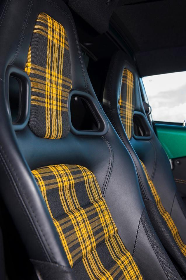 YellowlotusexigeSport350-yeallow tartan interior -