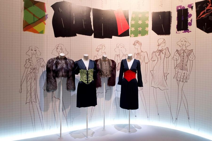 Yves Saint Laurent 1971 la collection du scandale  - exhibition