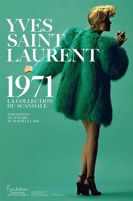 Yves Saint Laurent 1971 la collection du scandale