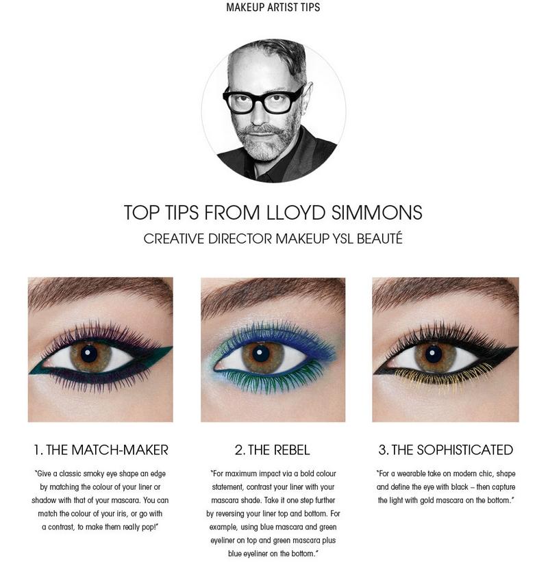 Yves Saint Laurent Vinyl Mascara Couture-2016 launch - 2luxury2 com-top tips