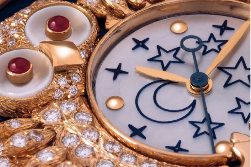 Zannetti Regent Jewellery Owl Limited Edition watch Baselworld 2016-