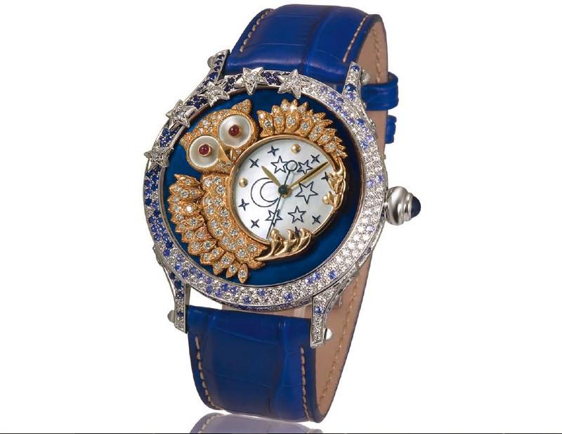 Zannetti Regent Jewellery Owl Limited Edition