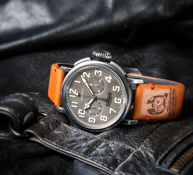 Zenith Pilot Ton-Up DGR Special Edition watch