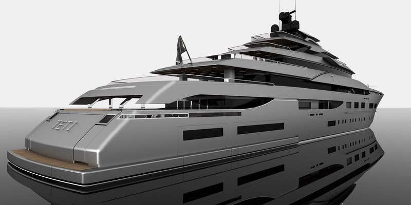 Zuccon 94 m Teti megayacht-aerial photo renderings-