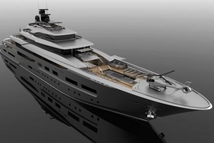Zuccon 94 m Teti – a spacial revolution on the upper deck