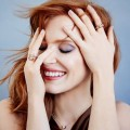 actress Jessica Chastain was named a brand ambassador of Swiss jewelry brand Piaget 2015-