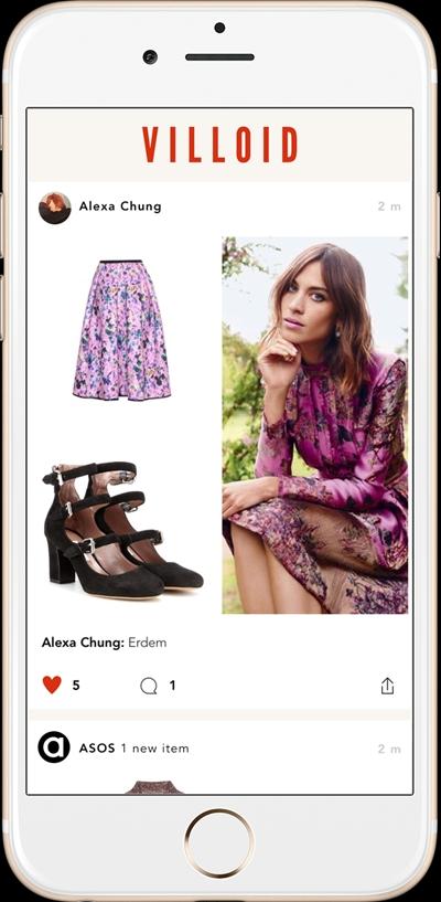 alexa chung villoid app 2015