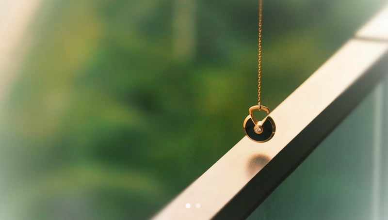 amulette de cartier 2015-malachite