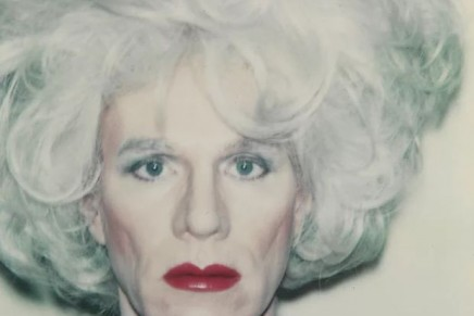 Warhol's self-portrait gives us a glimpse into the impenetrable artist