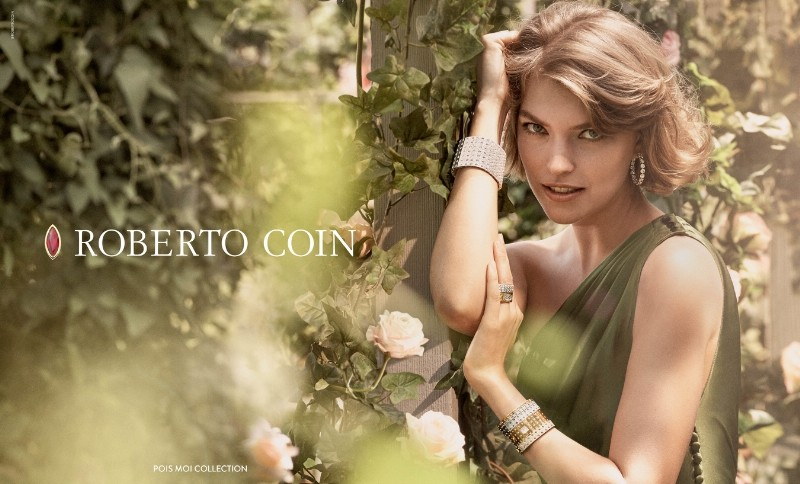 arisona muse for roberto coin 2015 Fall Winter 2015 ad