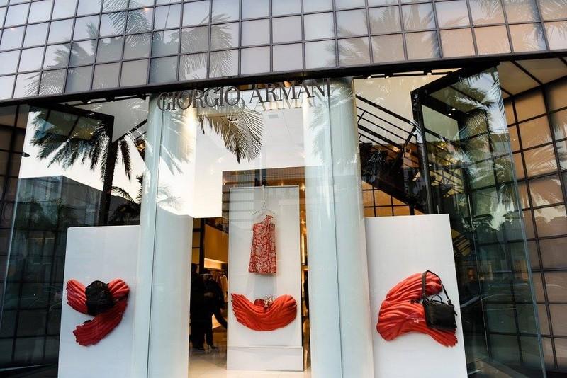 armani - Giorgio Armani Boutique on Rodeo Drive