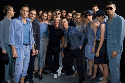 Armani creates a timeless menswear collection with legacy in mind