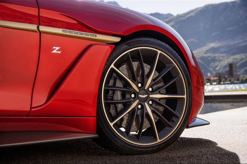 aston martin vanquish zagato limited edition 2016- ext details-wheels