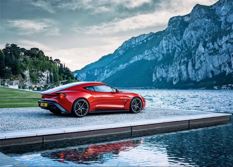 aston martin vanquish zagato limited edition 2016- lateral
