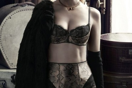 The Twenties, fringing, glamour and diamante at the vintage-inspired Aubade Lingerie Pop-up Store