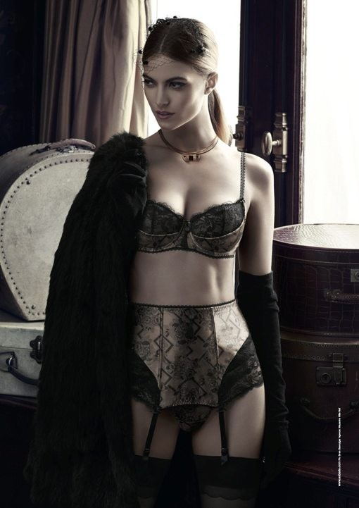 ... at the vintage-inspired Aubade Lingerie Pop-up Store - 2LUXURY2.COM