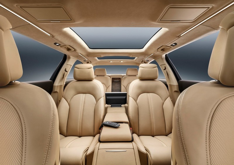 audi- New 6.36-metre luxury saloon offers spacious seating for six---0