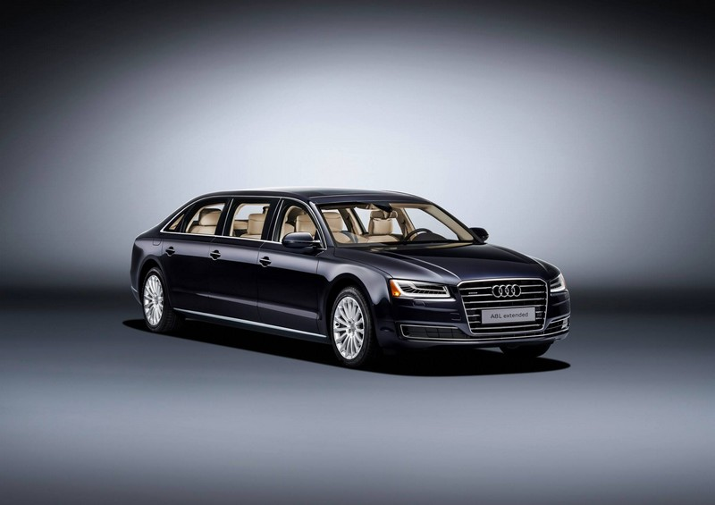 audi- New 6.36-metre luxury saloon offers spacious seating for six---