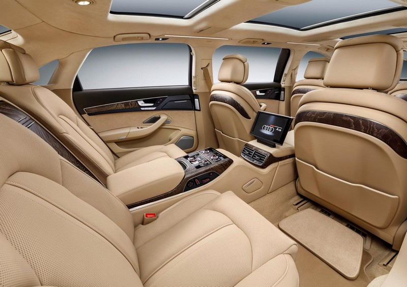 audi- New 6.36-metre luxury saloon offers spacious seating for six luxury passangers