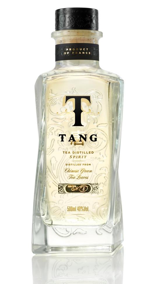 bacardi tang Tea-distilled liquor for China market