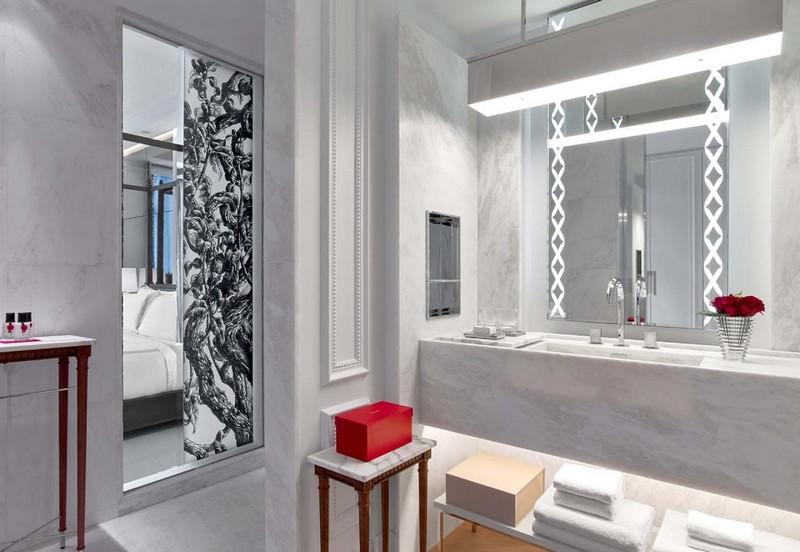 baccarat hotels & resorts - classic bathroom