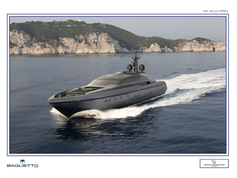 baglietto yachts 43m open