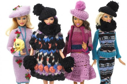 Out of the toy box and on trend: Barbie gets a style reboot