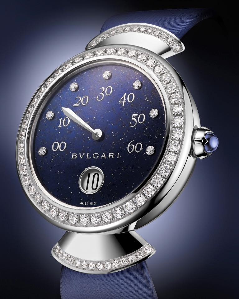 baselworld 2016 - bvlgari luxury watches - Bulgari - the new Divas' Dream with Jumping hours and Retrograde minutes