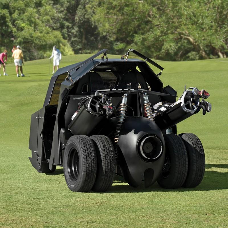 batmobile golf cart