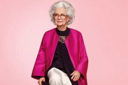 'Ageism is so last century': Harvey Nichols uses 100-year-old model