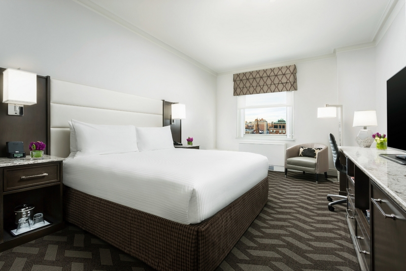 boston park plaza hotel after the 2016 renovation - 2luxury2-king guestroom