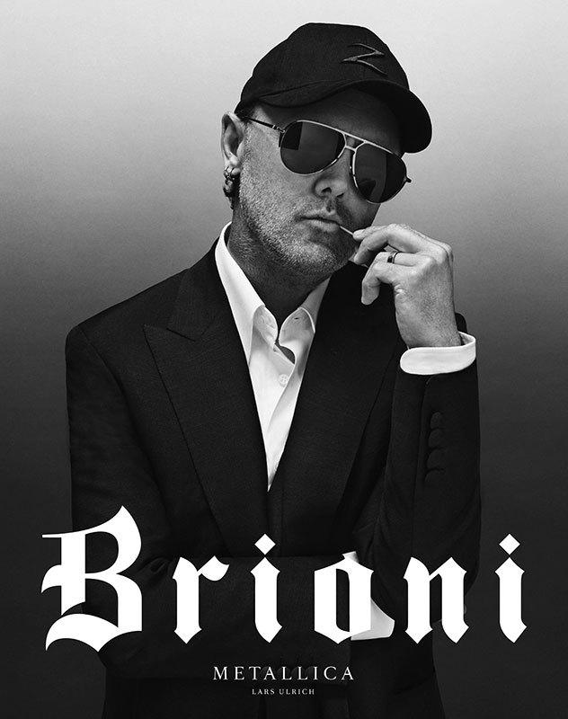 brioni and metallica campaign-2016 - 2luxury2