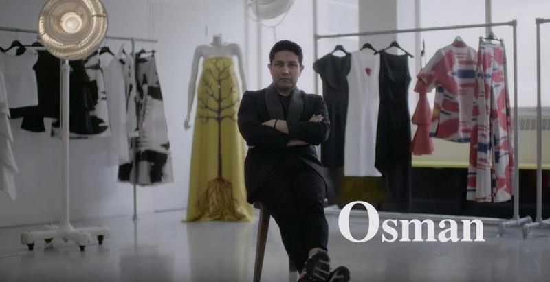 british fashion fund shortlist 2016 - osman