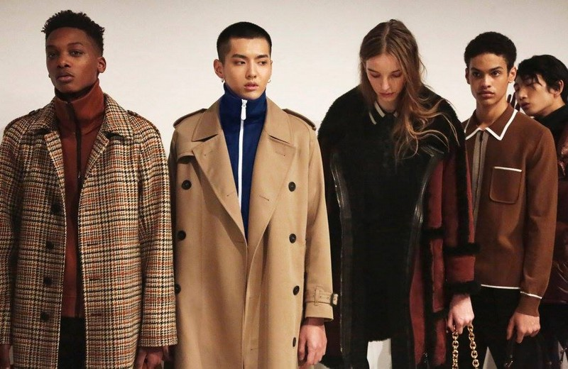 burberry classic outwear