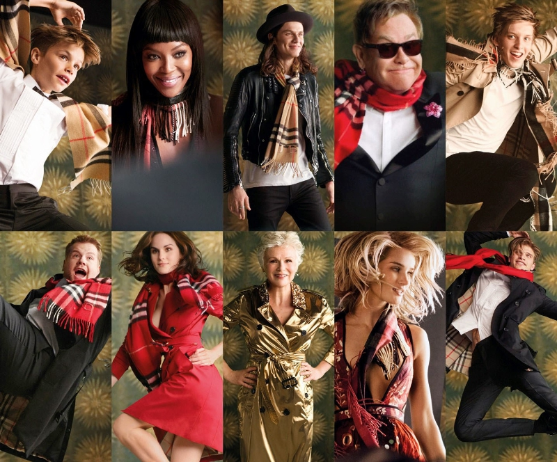 BURBERRY LAUNCHES FESTIVE CAMPAIGN