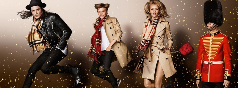 burberry  festive images 2015