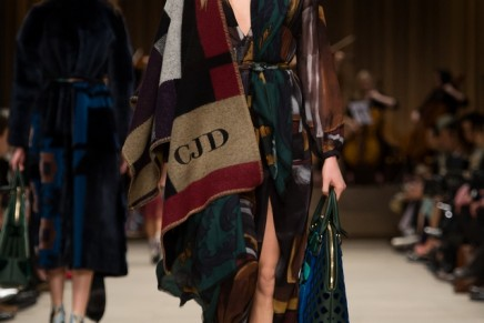 The good, the glad and the celebrities: Burberry hails return of the poncho