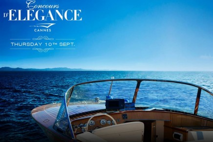 "The Cannes Yachting Festival launches its 1st ""Concours d'Elegance"""