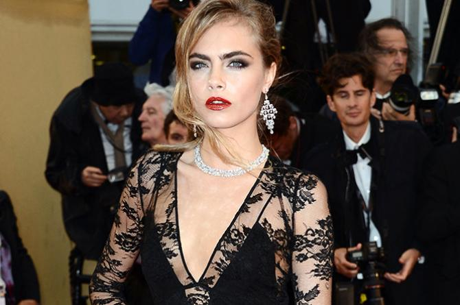cara-Cara Delevingne The Face of an Angel