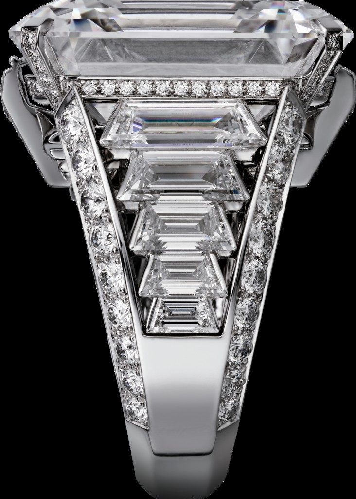 -cartier magicien high jewelry collection 2016 - White gold, rock crystal, diamonds bracelet - 2luxury2