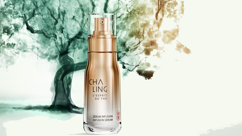 cha ling cosmetic line by LVMH