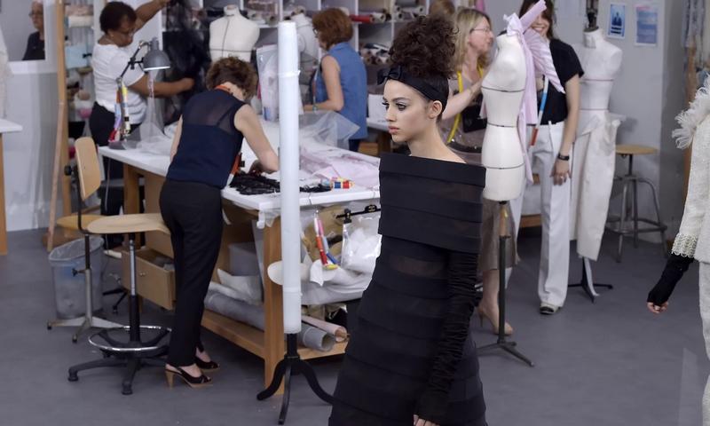 chanel haute couture catwalk show 2016