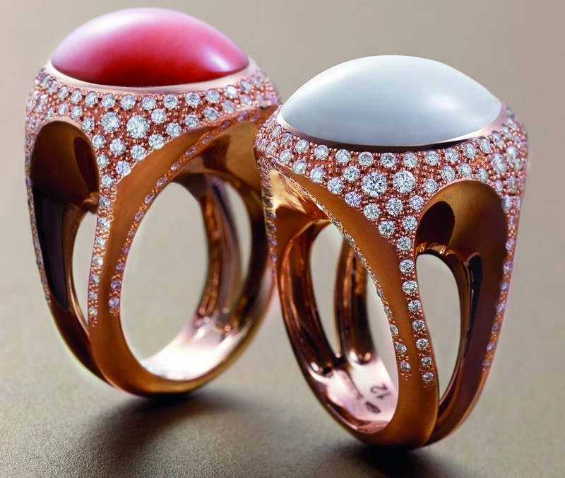 chantecler capri new Cherie rings