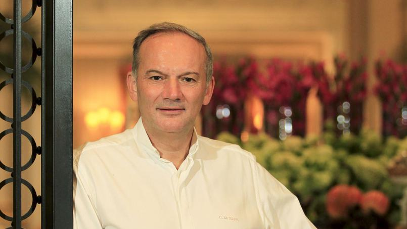 chef Christian LE SQUER at Le Cinq