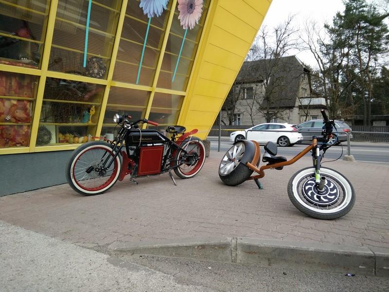 chop-e minibike estonia