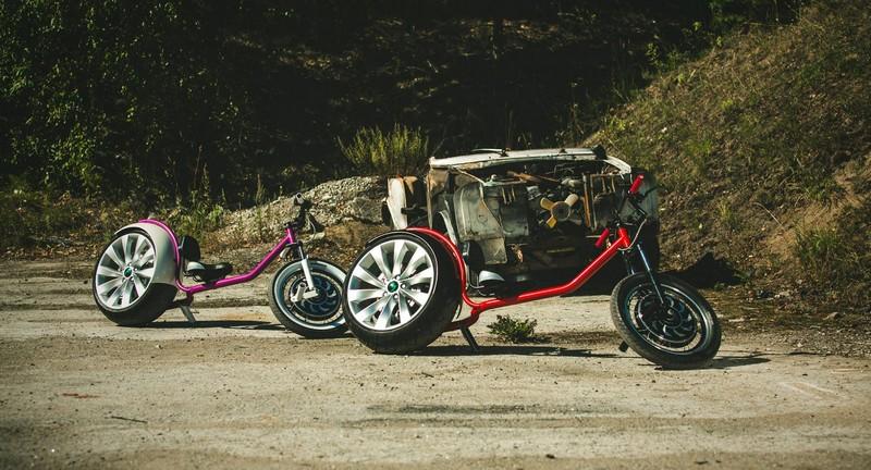 chop-e minibike- the final version of Model 01