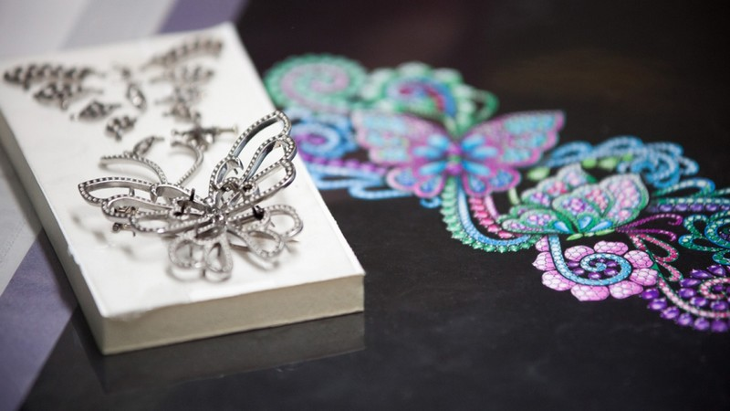 chopard Haute Joaillerie creations- in the making