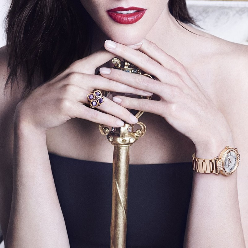 chopard imperiale necklace and cocktail ring 2015