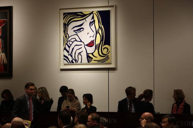 christies artist muse sale
