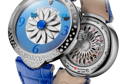 The ultimate romantic watch: Christophe Claret Marguerite clothed in diamonds